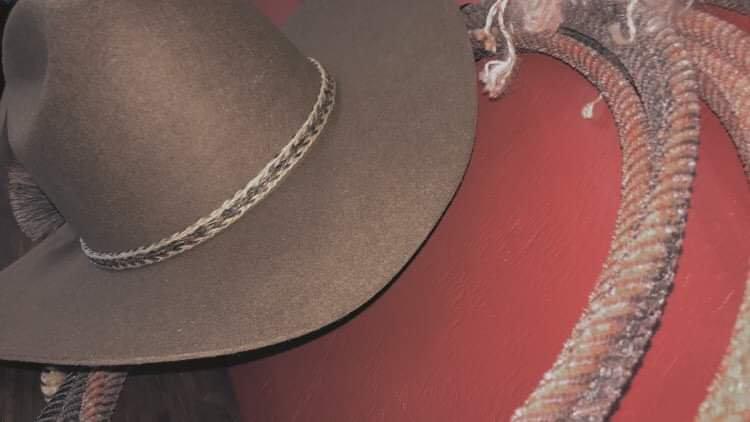 3 Strand Hat Band Horse Hair