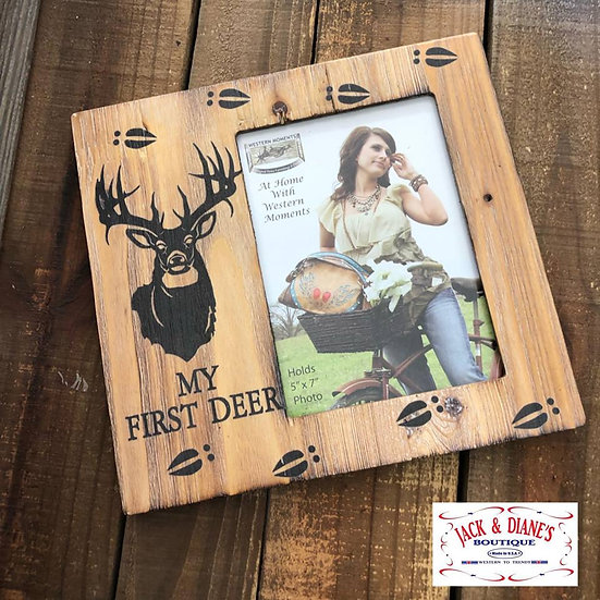 My First Deer Picture Frame