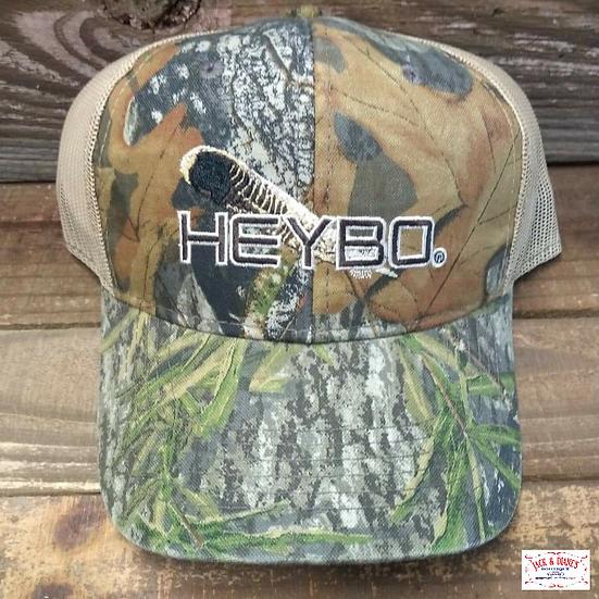 HEBO Turkey Feather Trucker cap Mesh back adjustable