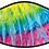 Thumbnail: Rainbow Tie Dye Cool Shield Face Mask