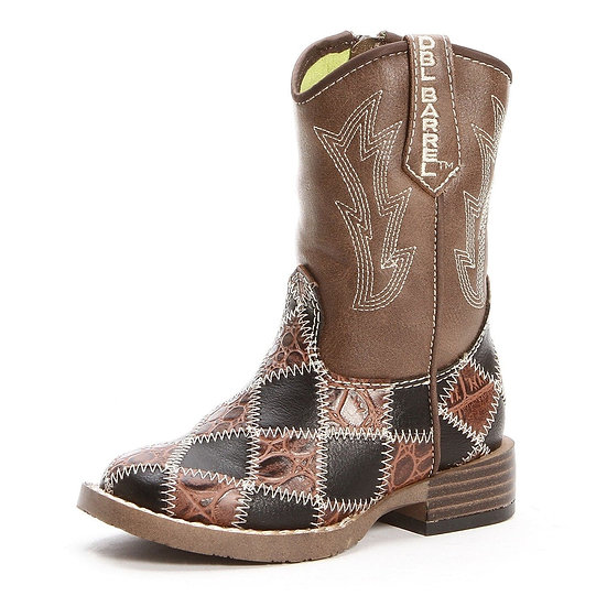 Twister Travis Youth Travis Square Toe Cowboy Boot