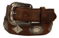 B40 - RockinLeather Crazy Tan Cowhide Leather Belt