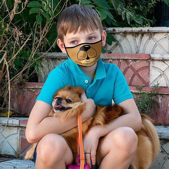 Kerusso Youth Face Mask Dog