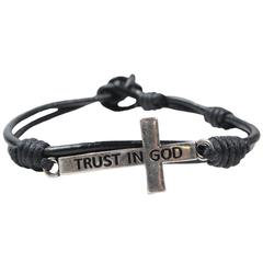 kerusso Trust in God Cross Bracelet