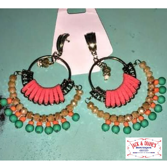 Fun Large Western Earrings
