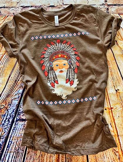 Aztec Santa Tee