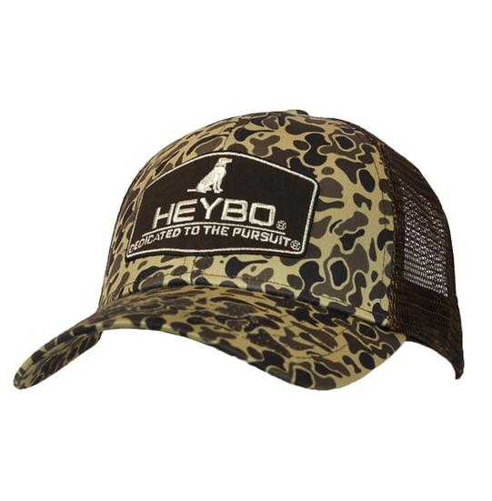 HEYBO 5 Panel Old School Trucker Hat