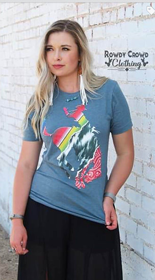 Rowdy Crowd Clothing Pattern Me Crazy Tee