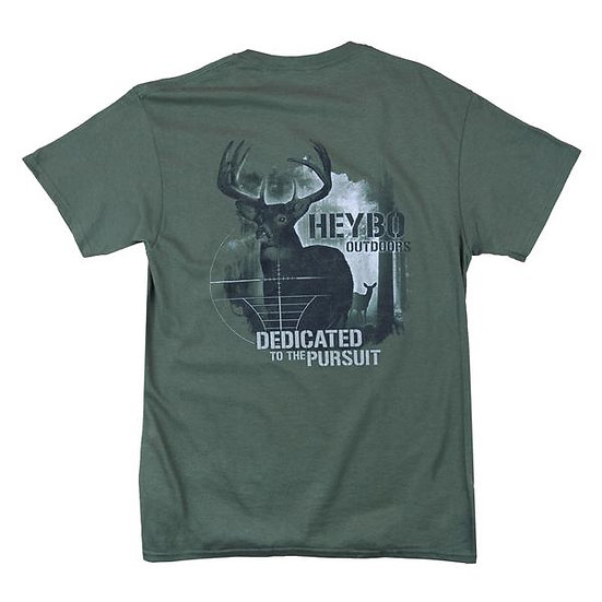 HEYBO Buck in Crosshairs T-Shirt