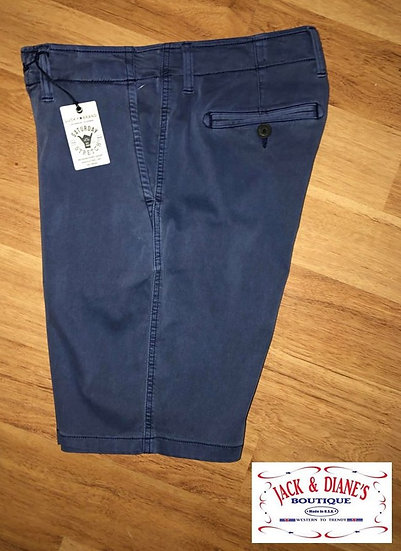 Lucky Brand Saturday Stretch Blue Men's Shorts