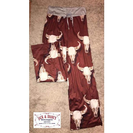 Bull Skull Lounge Pants