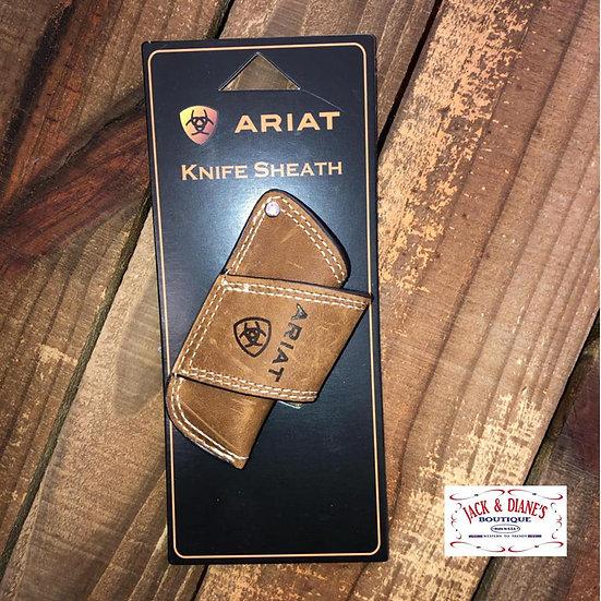Ariat Leather Knife Sheath