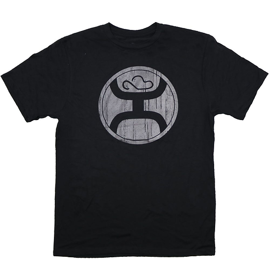 HOOEY Black Reflective Crew Neck T-Shirt