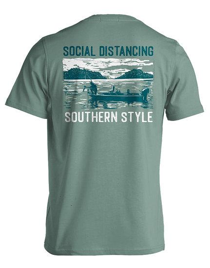 SOCIAL DISTANCING (LAKE FISHING) LIVE OAK BRAND