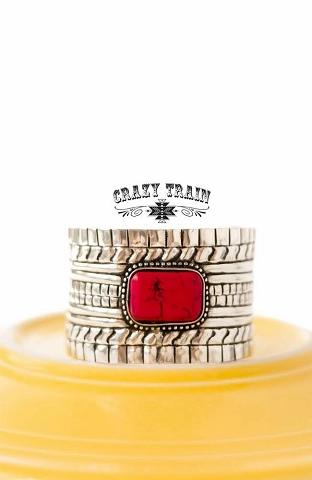 Crazy Train Wild West Cuff Bracelet