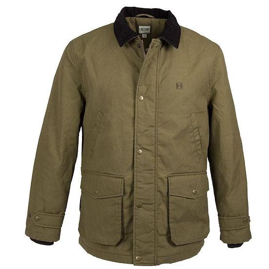HEYBO Brown Waxed Jacket
