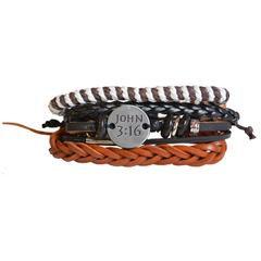 kerusso Faith Gear John 316 Multi Layered Bracelet