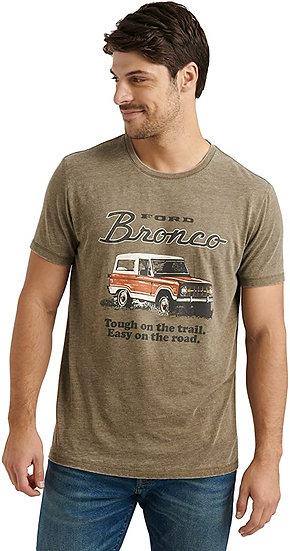 Lucky Brand Men's Short Sleeve Crew Neck Bronco Tee