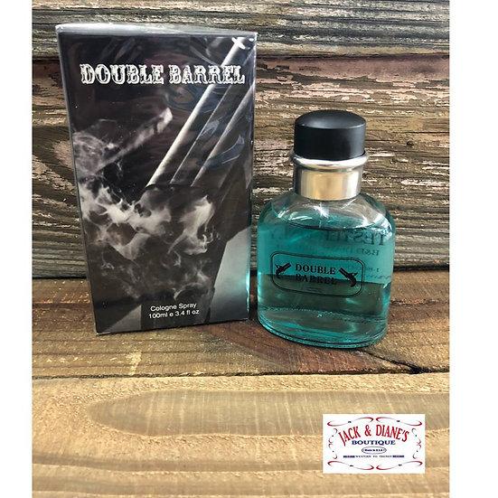 DOUBLE BARREL Cologne Spray for Men