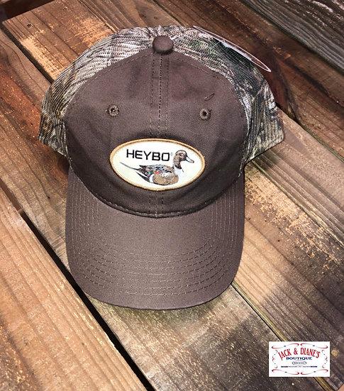 HEYBO Pintail Decoy Camo print mesh snap back