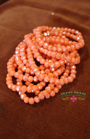 Crazy Train Tangerine Tango Bracelet