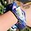 Thumbnail: Rowdy Crowd Aquamarine Pocket Scrunchie