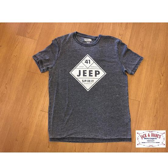 Lucky Brand Jeep Diamond Short Sleeve Tee