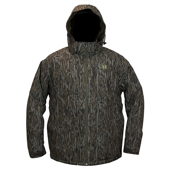 HEYBO RENEGADE SOFTSHELL JACKET : MOSSY OAK BOTTOMLAND