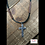 Thumbnail: Kerusso Guy's Necklace Hammered Cross
