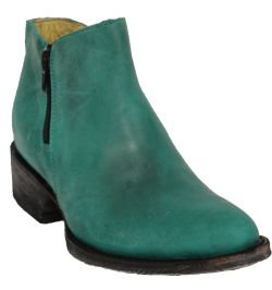 Rockin Leather - 2151 Teal Shorty