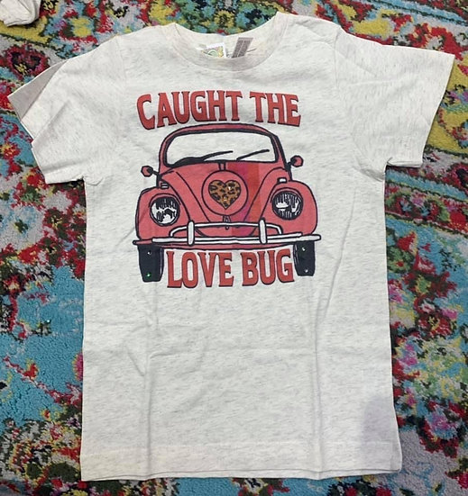 Caught The Love Bug Short Sleeve Tee Youth