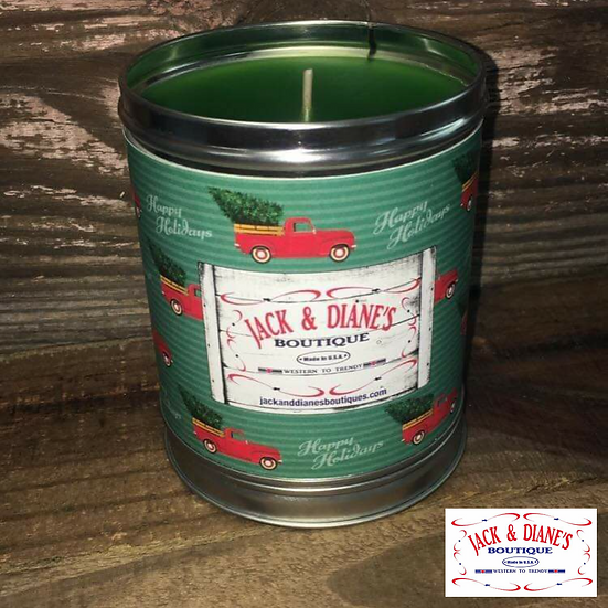 Jack & Diane's Boutique Country Christmas Candle