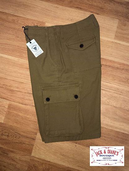 Lucky Brand Pale Ale Men's Cargo Shorts