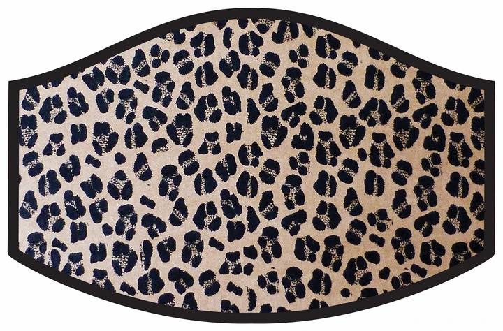 Leopard Cool Shield Face Mask