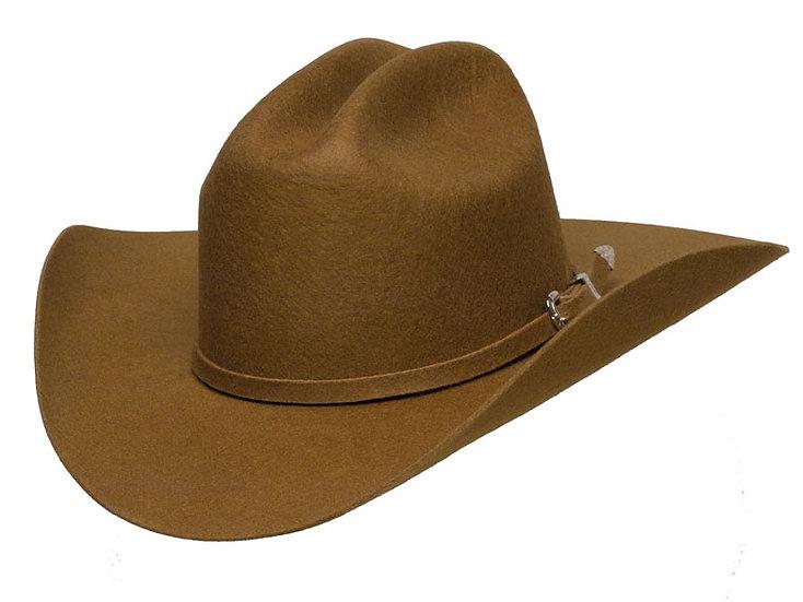 Western Express Cattleman Brown Wool Felt