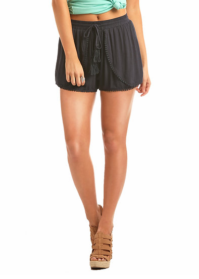 Rock & Roll Cowgirl Navy Shorts