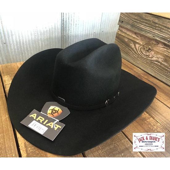 ARIAT Black Wool Cowboy Hat