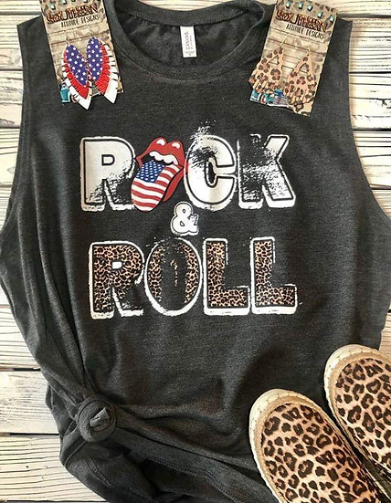 Rock & Roll Tank Black