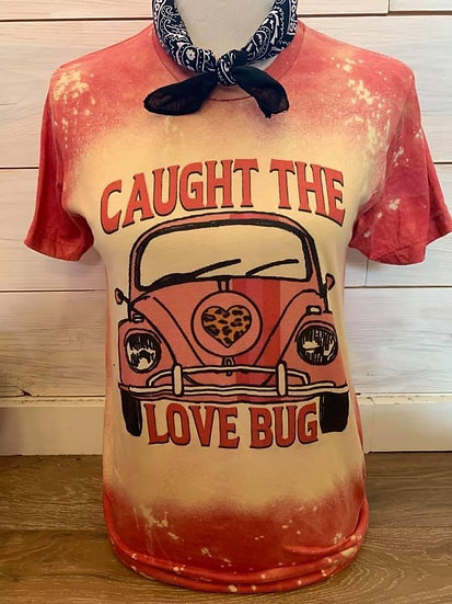 Caught The Love Bug Short Sleeve Tee