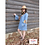 Thumbnail: Serape Bell Sleeve Western Dress