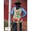 Thumbnail: Cactus Western Style Hi-Lo Button up Blouse