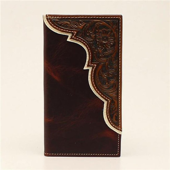 Ariat Rodeo Marble Corner Overlay Embroidery Wallet