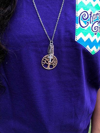 Faith Gear Women's Necklace Tree Of Life