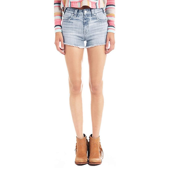 Rock & Roll Cowgirl High-Rise Denim Jean Shorts at Jack & Diane's Boutique!
