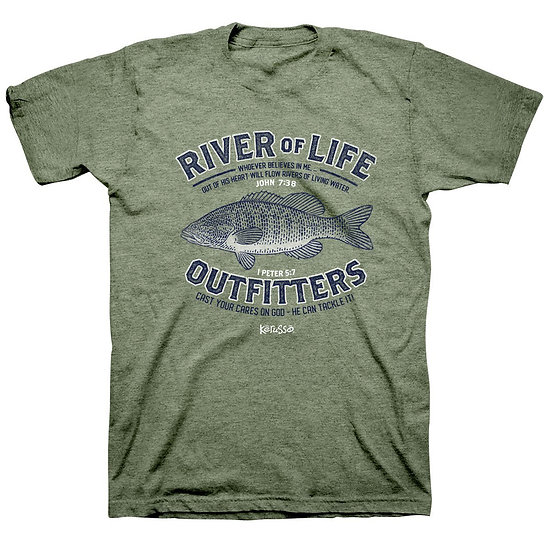 Kerusso Fishing River Tee