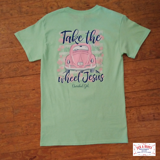 Kerusso Cherished Girl Tee - Take The Wheel