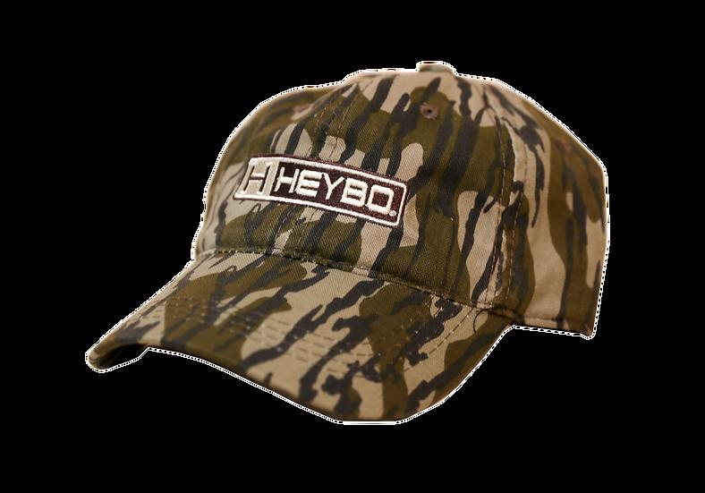 HEYBO Mossy Oak Bottomland Camo Unstructured Hat