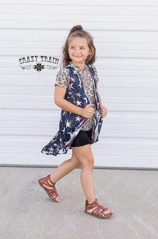 Crazy Train Kids Liberty Lace Duster