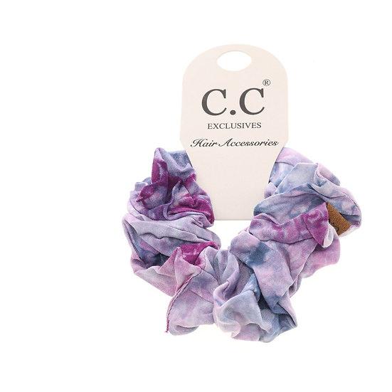 C.C Tie Dye Scrunchie