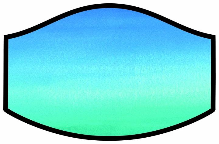 Seascape Cool Shield Face Mask